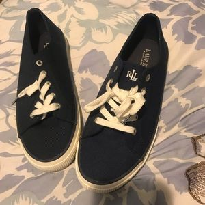 Ralph Lauren sneakers(Mint condition)
